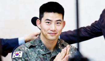 4 Korean Male Celebrities That Will Be Discharged From Military In May