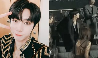 MONSTA X's HyungWon Made A New Legendary (?) Gif At 'The Fact Music Awards 2019' (TMA)