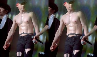MONSTA X's WonHo Might Have Worn His Sexiest Outfit At 'WE ARE HERE' Seoul Concert