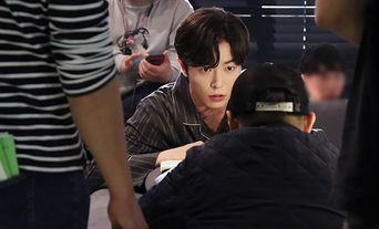 Kim JaeWook, 'Her Private Life' Drama Set Behind-the-Scene (Subtitle : Kim JaeWook is my way)