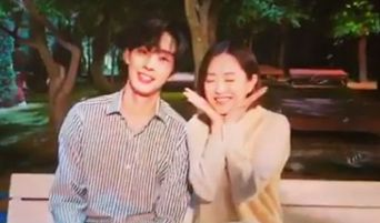 Ahn HyoSeop & Park BoYoung Are A Romantic Couple On New Instagram Video