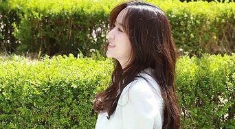 Kim SoHyun, Fan Meeting Poster Behind Shooting Scene