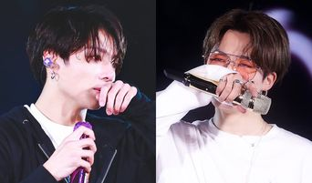 BTS's JungKook And JiMin In Tears After Hearing Fans Sing Along To 'Young Forever'