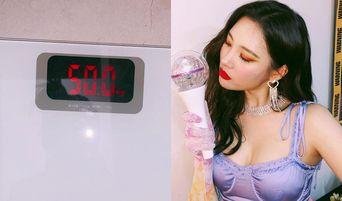 SunMi Weighs 50 kg After Recent Instagram Update, Netizens Show Mix Reactions