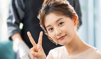 Kim JiWon, Commercial Shooting Behind-the-Scene