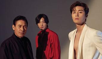 Park SeoJoon X Ahn SungKi X Woo DoHwan For Harper's BAZAAR Korea Magazine August Issue