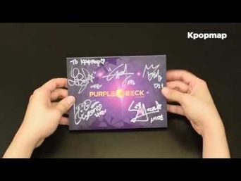 """Unboxing: PURPLE BECK 1st Album """"Crystal Ball' Unboxing"""