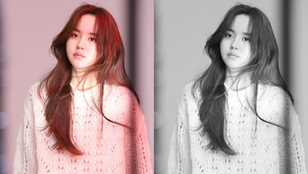 Kim SoHyun, 'Love Alarm' Drama Poster Behind Shooting Scene & Drama Set Behind-the-Scene