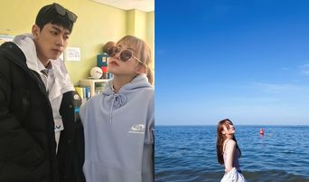 'A-Teen' Actress Kim SooHyun Posts Pretty Video & Pictures At The Beach