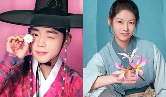 """All 6 Individual Posters Of Upcoming Drama With Park JiHoon """"Flower Crew: Joseon Marriage Agency"""" Released"""