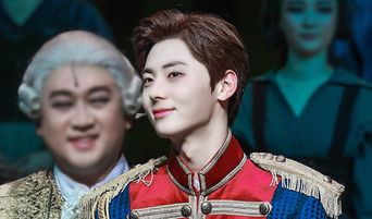 NU'EST's MinHyun Successfully Debuts As Musical Actor With 'Marie Antoinette'