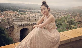 Park MinYoung Shares Beautiful Pictures Of Her Travelling In Spain