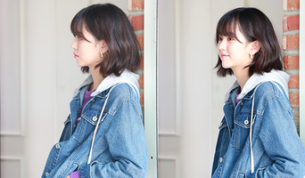 Kim SoHyun For SOUP F/W Collection Photoshoot Behind-the-Scene