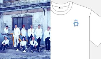 Super Junior Releases Hand Drawn T-Shirts Made By Members