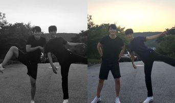 Shin SeungHo & Kim DoWan Of 'At Eighteen' Shows Bromance On Instagram