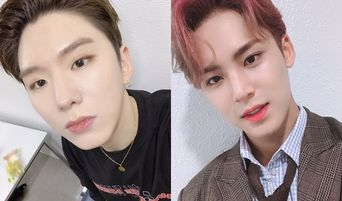 MONSTA X's KiHyun & 'Obsessed' SEVENTEEN's MinGyu Make Fans Laugh With Messages