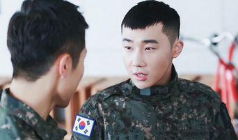 INFINITE's SungKyu Seen Fixing SungYeol's Military Uniform