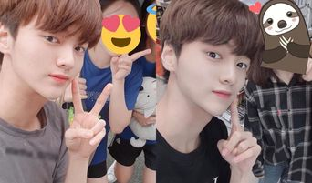X1's Cha JunHo Takes Selfies And Videos With Fans Even During Chuseok Holiday