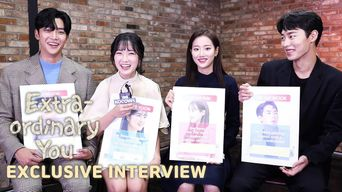 [Exclusive Kocowa Interviewㅣ'Extraordinary You'] SF9's RoWoon, Kim HyeYoon, APRIL's NaEun, Lee JaeWook