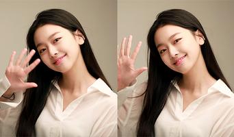 Lee SooMin, New Profile Photo Behind Shooting Scene