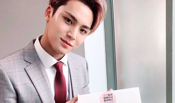 SEVENTEEN's MinGyu Bids Farewell As SBS 'Inkigayo' MC With Macarons And Polaroids To Fans