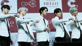 Exclusive Photos: CIX 'HELLO' Chapter 2. 'Hello, Strange Place' Media Showcase