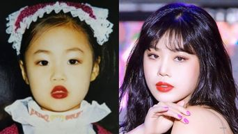(G)I-DLE's SooJin Proves That She Suits Red Lips Since She Was Young