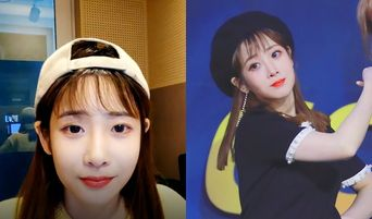 Lovelyz's JiAe Continues Woollim's Tradition By Entering The Wrong Channel On V-Live