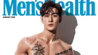 NU'EST's BaekHo Graces The Cover Of 'Men's Health' For January 2020 Issue