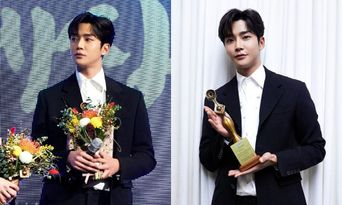 SF9's RoWoon Receives Grimae Best New Actor Award