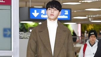 Kim MyungSoo (INFINITE's L) Transforms Airport Into His Runway