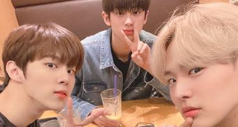 VICTON's ByungChan, UP10TION's WooShin And Kim MinKyu Hang Out Together