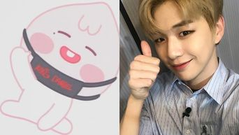 Fans Finally Understood Why Apeach Was At Kang Daniel's Fanmeeting