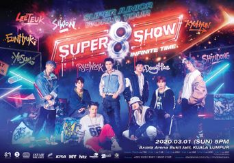 SUPER JUNIOR To Return With SUPER SHOW 8 In Kuala Lumpur On 01 March!
