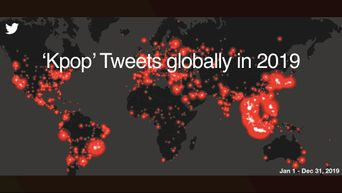 Kpop Twitter Rises To The Top With 6.1 Billion Tweets Globally In 2019