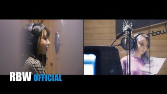 MAMAMOO's MoonByul - 'Weird Day' (Feat. Punch) Recording Making Film