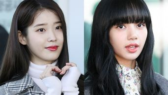 IU & BLACKPINK's Lisa Are Two Airport Goddesses Leaving For Italy