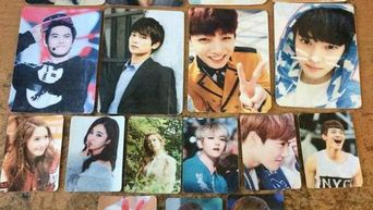 The Most Hilarious K-Pop Photo Cards So Far