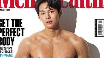Park SunHo Wows With The Cover Of 'Men's Health' Korea