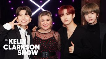 Monsta X Perform 'You Can't Hold My Heart' For Kelly Clarkson