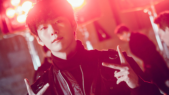Park SunHo, Drama Poster Shooting Of 'RUGAL' Behind-the-Scene