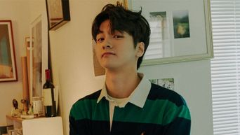 Woollim's Cha JunHo Poses For 'Marie Claire', Reveals 3 Pop Singers He Is Currently Listening To