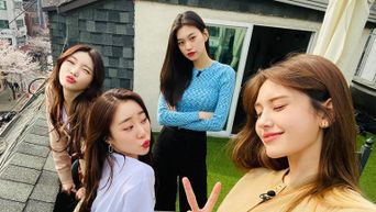 Jeon SoMi Meets Up With I.O.I Members In Recent Episode Of Reality Show 'I AM SOMI'