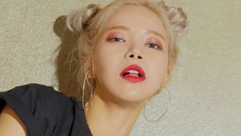 MAMAMOO Solar's Plastic See Through Outfit The Latest Talk Of The Town
