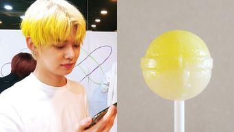 Netizens Compare TXT's YeonJun Hair Colour To A Lemon Lollipop