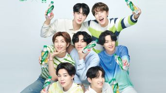 After 'Coca Cola', BTS Becomes The New Face Of 'Chilsung Cider'