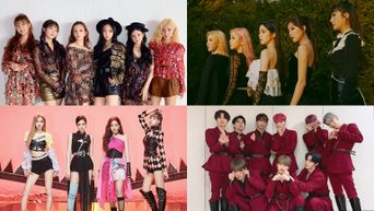 13 K-Pop Groups With Colours Included In Their Name