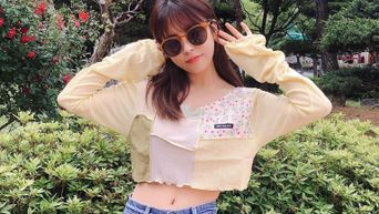 Actress Min DoHee Posts Cute Spring Pictures On Instagram