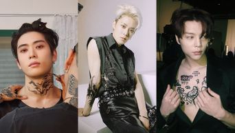 NCT 127's JaeHyun, Yuta And Johnny Show Off Their Tattoo On Instagram
