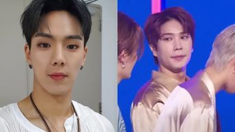 UNVS's EunHo Can't Stop Looking At MONSTA X's ShowNu On 'The Show'